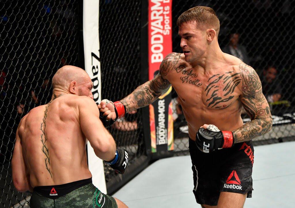 McGregor tewas di tangan Poirier